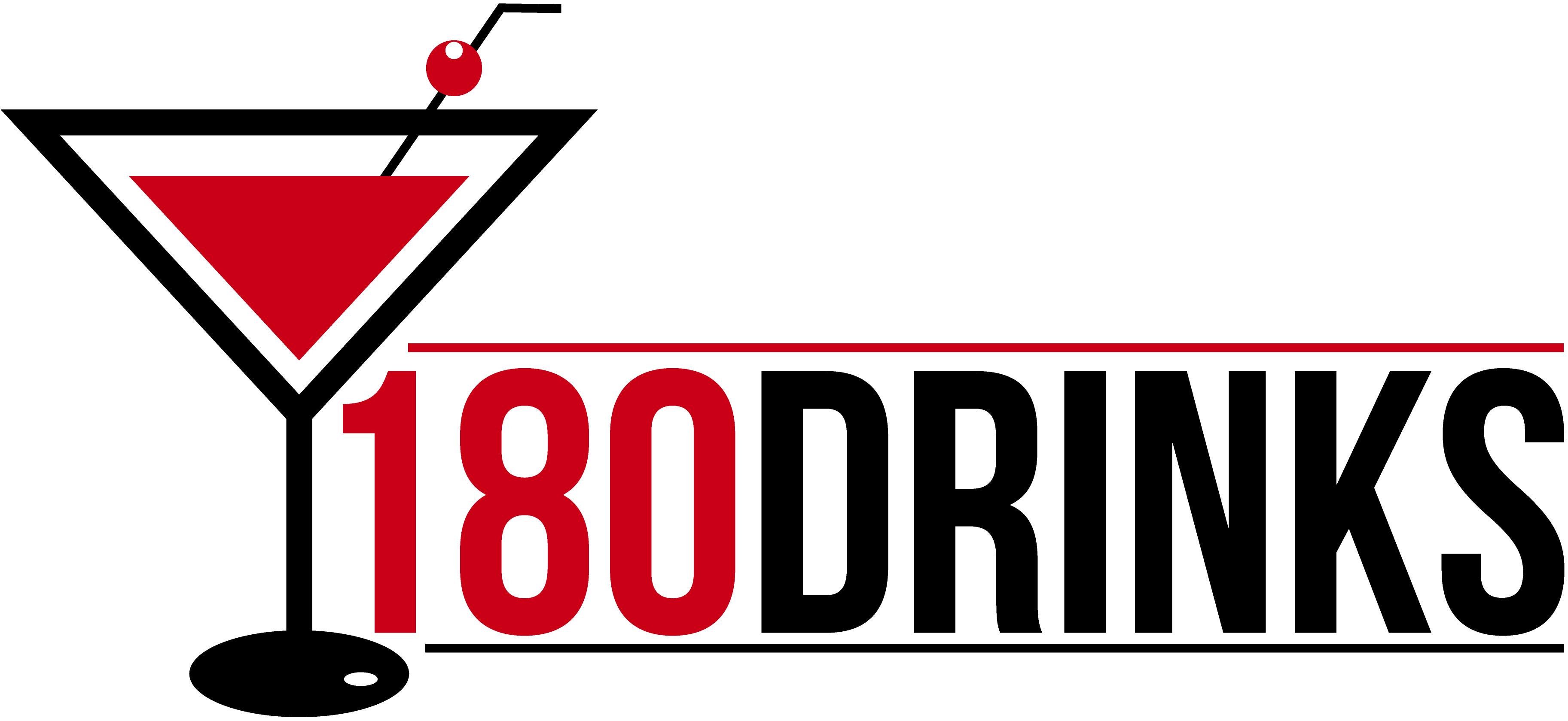 180 Drinks  Logo