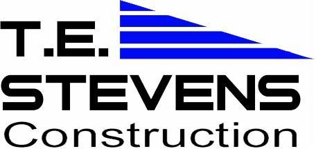 TE Stevens Construction Logo