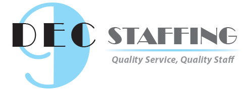 DeC 9 Staffing Logo