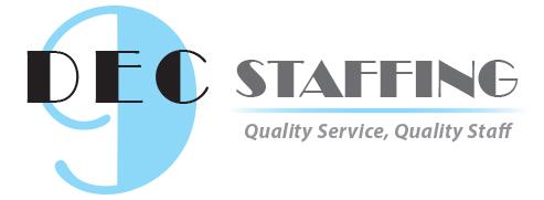 DeC 9 Staffing Logo